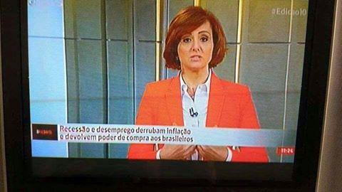 Globonews-recessão e desemprego derrubam inflação e devolvem poder de compra aos brasileiros