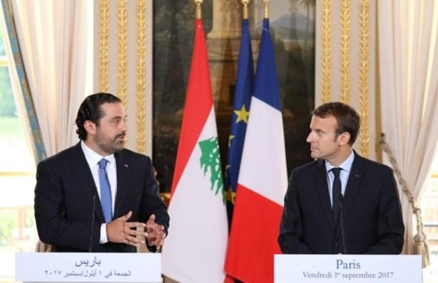 Macron e Libano