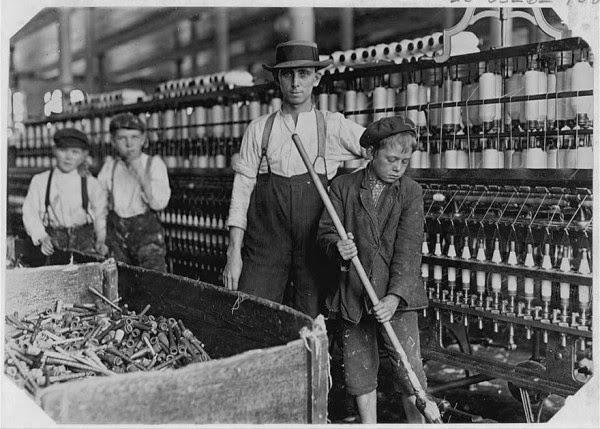 Condições de trabalho em finais do sec XIX