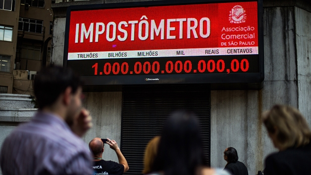 Impostômetro 1 trilhão de reais