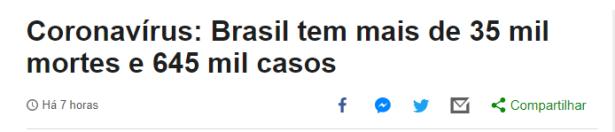 Corona H1N1 Bolsonaro 2